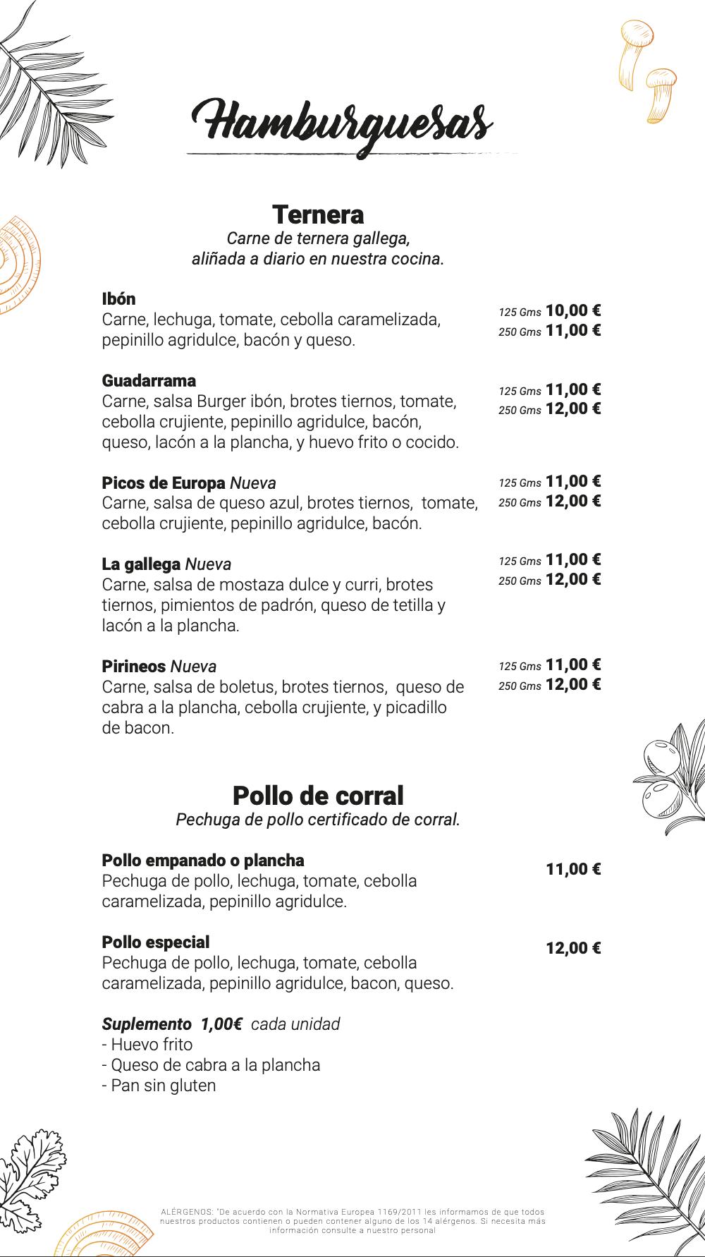 Restaurante El Ibón comida para llevar